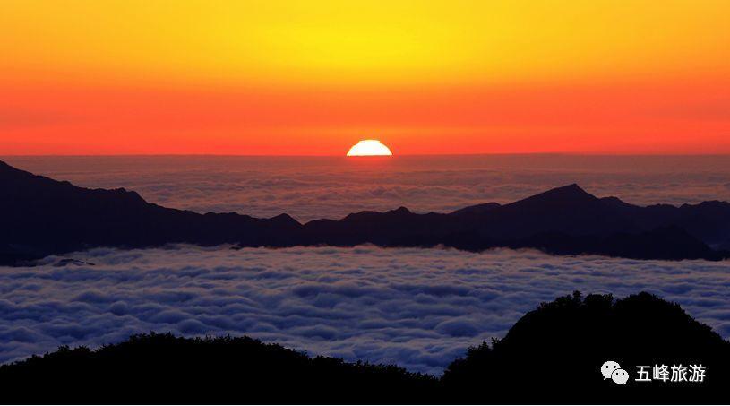 住云顶酒店 看红日出海