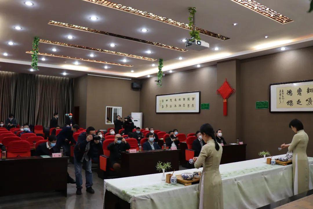 云上五峰  云上茶会——五峰首届线上春茶节今日在采花茶业科技园启幕!